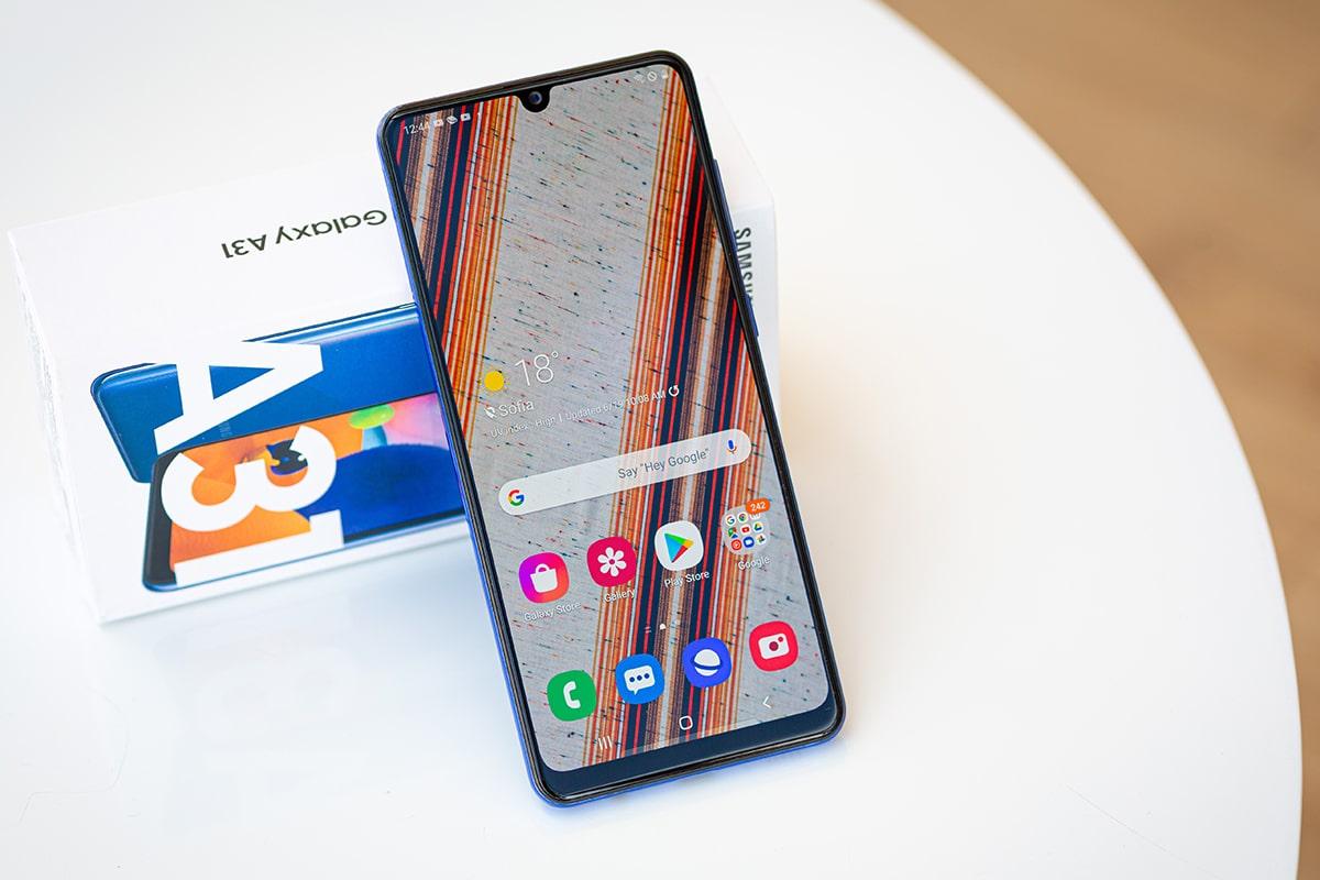 نقد و بررسی گوشی Samsung Galaxy A31 - گوشی پلازا